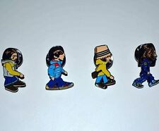 The Beatles Pin Badges. A Guy Called Minty, Casual Connoisseur Rosso Bianco Nero