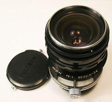 Nikon 35mm f/3.5 Early Type PC Nikkor Shift Lens Nippon Kogaku  Super Clean