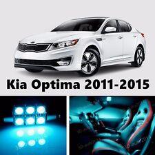 11pcs LED ICE Blue Light Interior Package Kit for Kia Optima 2011-2015