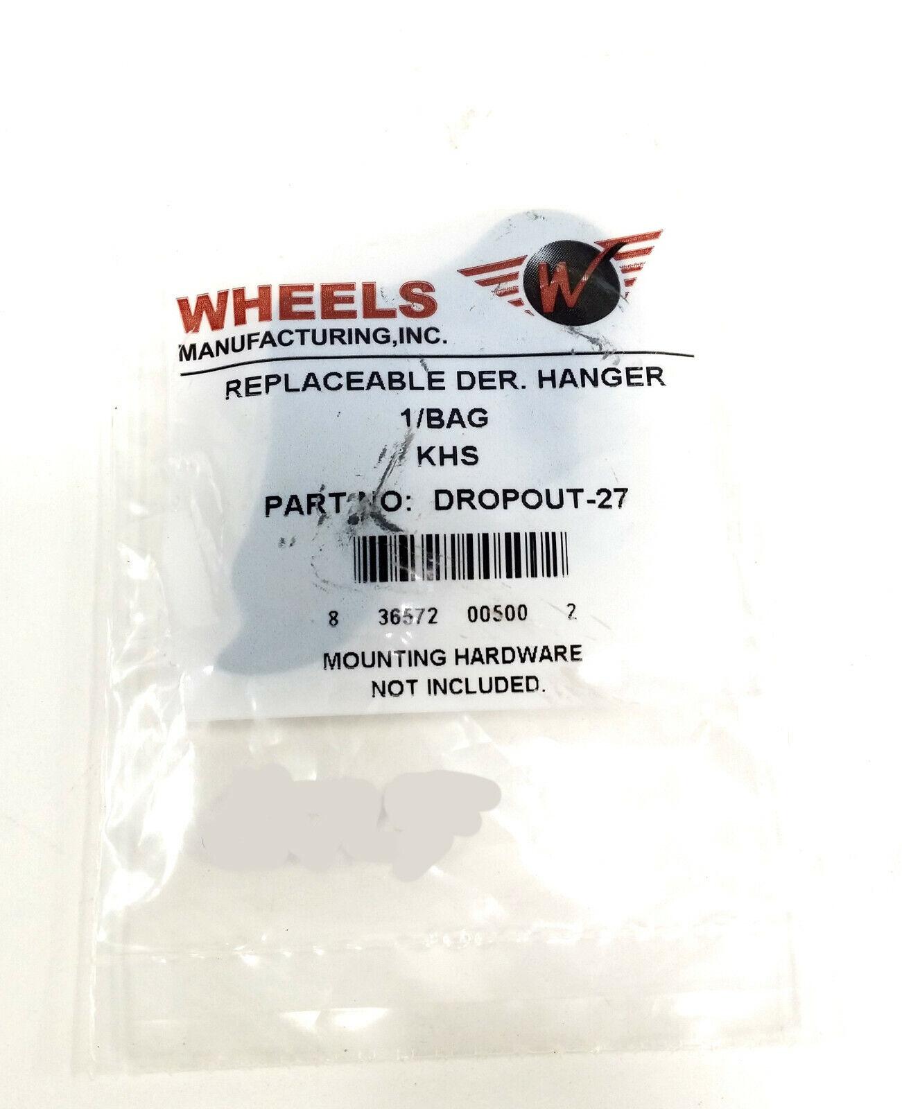 Wheels Manufacturing Derailleur Hanger 27 Der Part Wob Rd Hanger #27