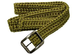 Paracord-Survival-Belt-Clothes-Heap-Olive-Black-Militray-Survival-Camping-Rope
