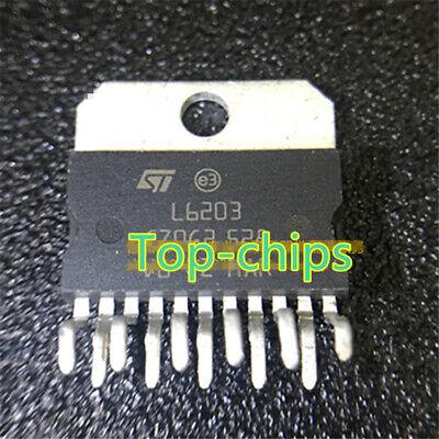 1pcs L6203 zip-11 IC Controlador Completo Puente multiwat St 5a 12 V ~ 48 V Nuevo