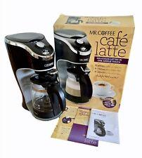 Mr Coffee Cafe Latte Maker Bvmc El1 2 Cup Black For Sale Online Ebay