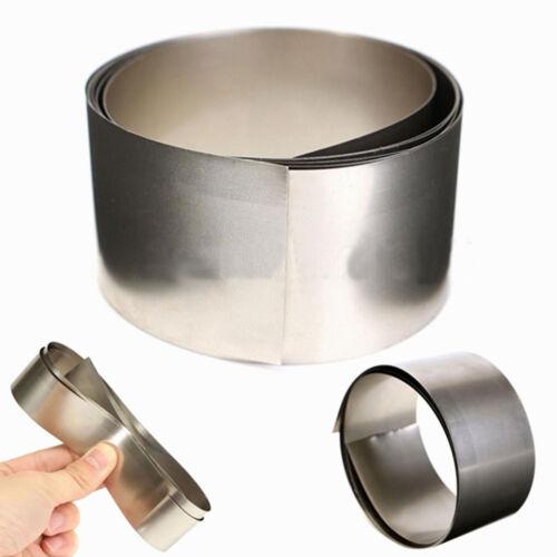 Pure Nickel Ni Metal Foil Thin Sheet Belt Stripe  0.1mm x 30mm x 1000mm #EYL5 GY