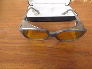 2f4cd66bd2 Laser Vision Safety Eyewear Glasses Goggles Case Made in Germany VLT ...