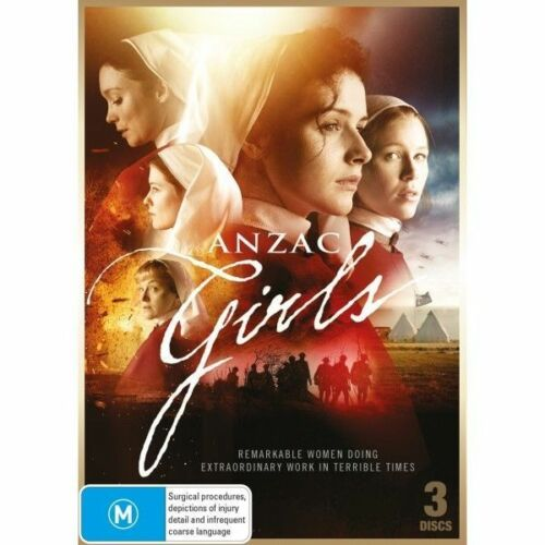 1 of 1 - Anzac Girls (DVD, 3-Disc Set) - Region 4 - New and Sealed