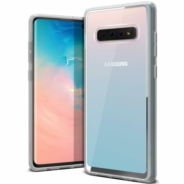 super popular 038d0 2a576 Galaxy S10 Plus Case VRS Design Anti-yellowing Crystal Clear Slim Soft