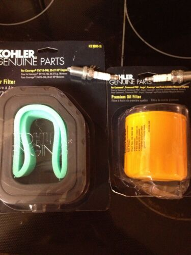 CUB CADET Tune Up Kit Air /& Oil Filter /& Spark Plugs NEW for SLTX1050 LTX1046