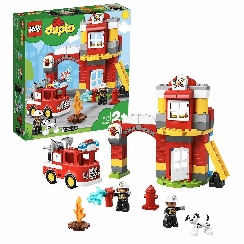 LEGO® DUPLO® 10903 - Feuerwehrwache - 76 Teile NEU & OVP
