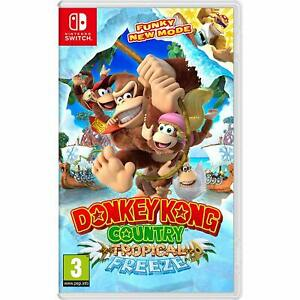 Donkey-Kong-Country-Tropical-Freeze-Nintendo-Switch-2018-Brand-New-Sealed