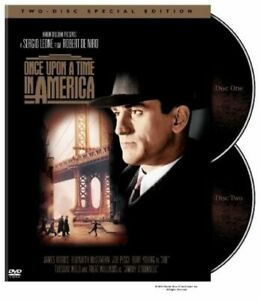 Once-Upon-Time-America-Import-USA-Zone-1-DVD-2003-Robert-De-Niro-James