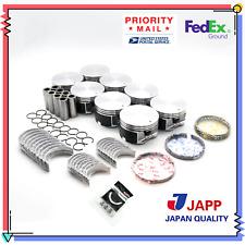 Std for 99-07 4.7L Dodge Jeep Mitsubishi V8 Premium Hi-Output Piston//Ring Kit