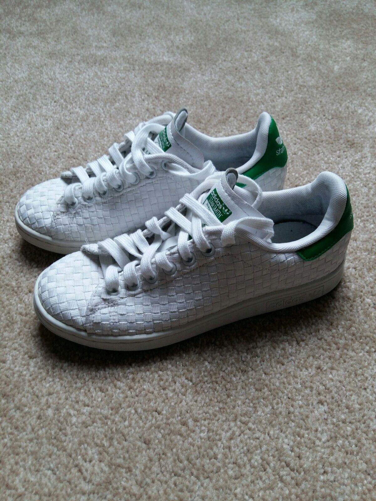Adidas stan smith tessere bianco   verde verde verde signore formatori dimensioni uk5 rari | prezzo al minuto  | Maschio/Ragazze Scarpa  5094db