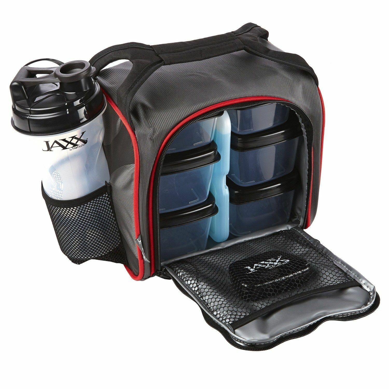 Fit and Fresh Jaxx Fuel Packs Meal Management Bag Gym Bag (Black  Reviews