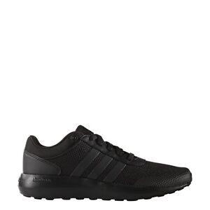 mens adidas neo cloudfoam razza nera da ginnastica atletica sport shoes
