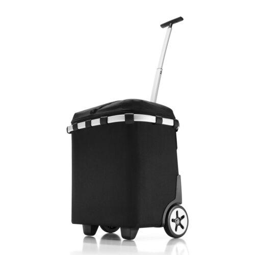 reisenthel carrycruiser Trolley Einkaufskorb Thermo Kühltasche Schwarz 40 L