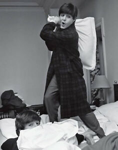 "The Beatles Pillow Fight 11 x 14/""  Print  Photo"
