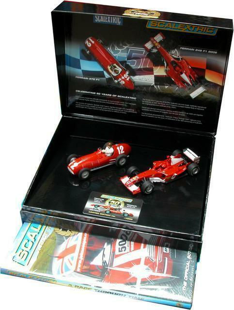 qq C 2782 TO PACK 50th ANNIVERSARY SCALEXTRIC