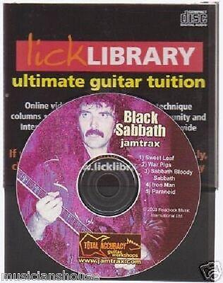 Lick Library Metallica Guitar Jamtrax Play Jam Trax CD LEARN METAL ENTER SANDMAN