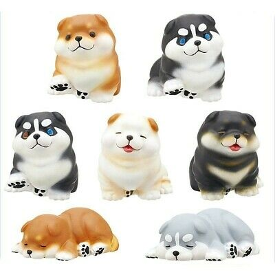 Cute Shiba Inu Chubby Puppy Dog Figure Gashapon Blind Box Toy 1pc Random