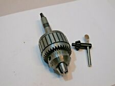 Jacobs 14n 0 12 Ball Bearing Super Drill Chuck With 2 Morse Taper Adapter