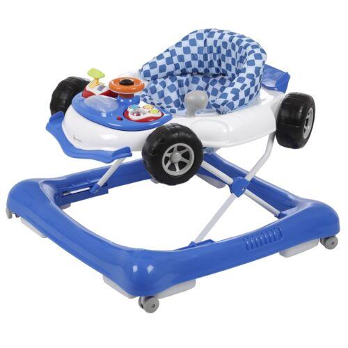 BabyGo Lauflernwagen Walker Gehfrei Car blau TOP