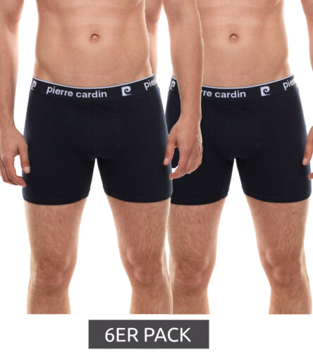 6er Pack Pierre Cardin Boxershorts coole Herren Unterhose Boxer Wäsche Navy