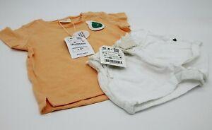 gama completa de artículos correr zapatos talla 7 Detalles de Zara bebes niña lote short pantalon corto blanco + t-shirts  9-12 meses nuevo
