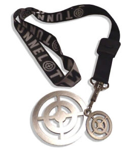 TUNNEL-STAHL-TARGETS-2-Stueck-inkl-KEYCHAIN