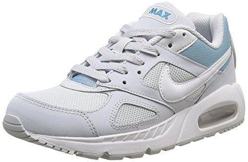 New Nike Air Max Ivo Women's Running Training Shoes Platinum/White 580519 014