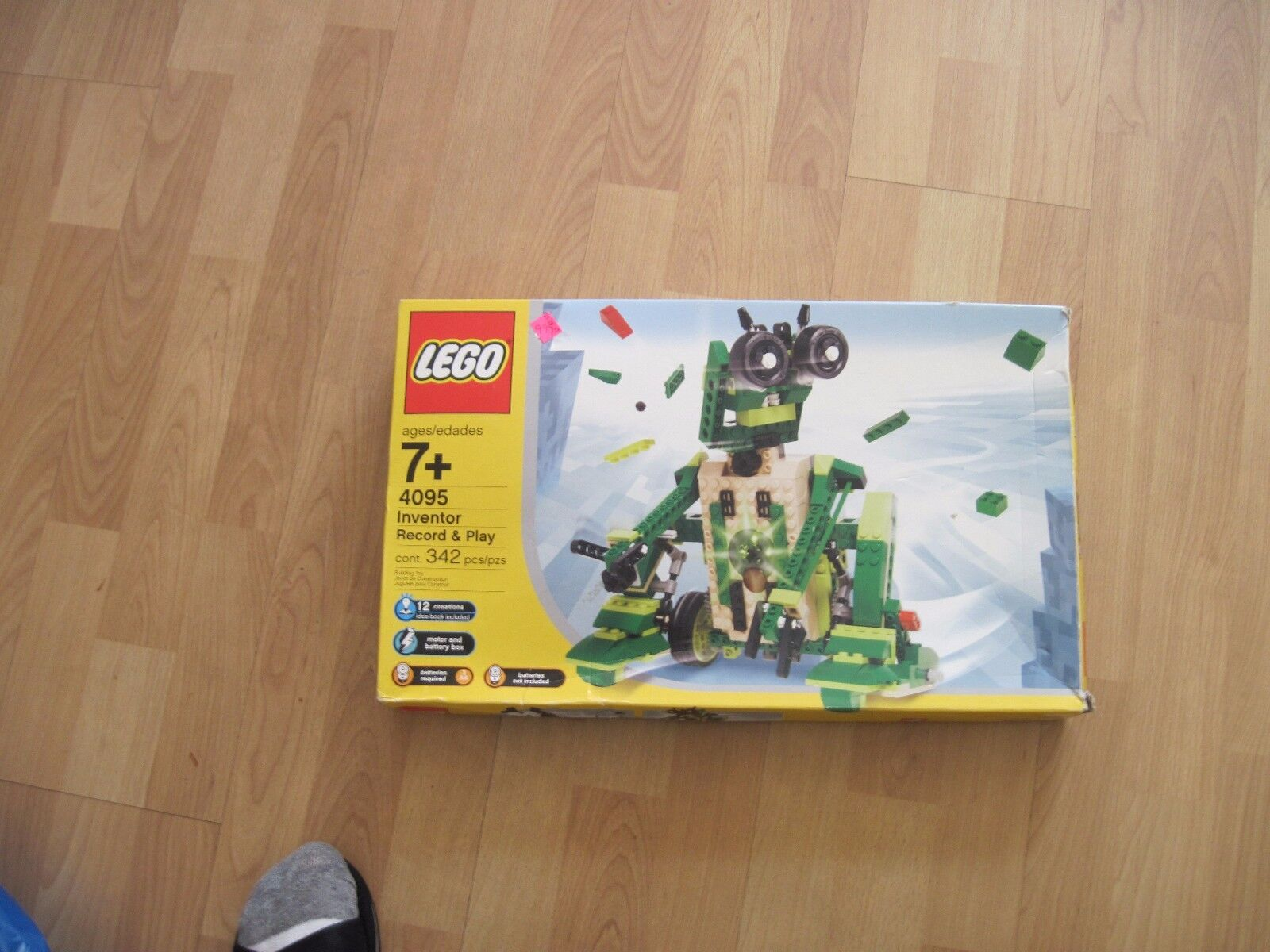 Lego  Set 4095 inventeur Record and Play NEUF  shopping en ligne