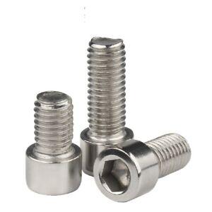 M6 M8  Socket Head Cap Screw Allan  Bolt  Metric Coarse  Stainless Steel 304