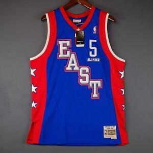 3c9c824ad4a 100% Authentic Jason Kidd Mitchell Ness All Star Swingman Jersey ...