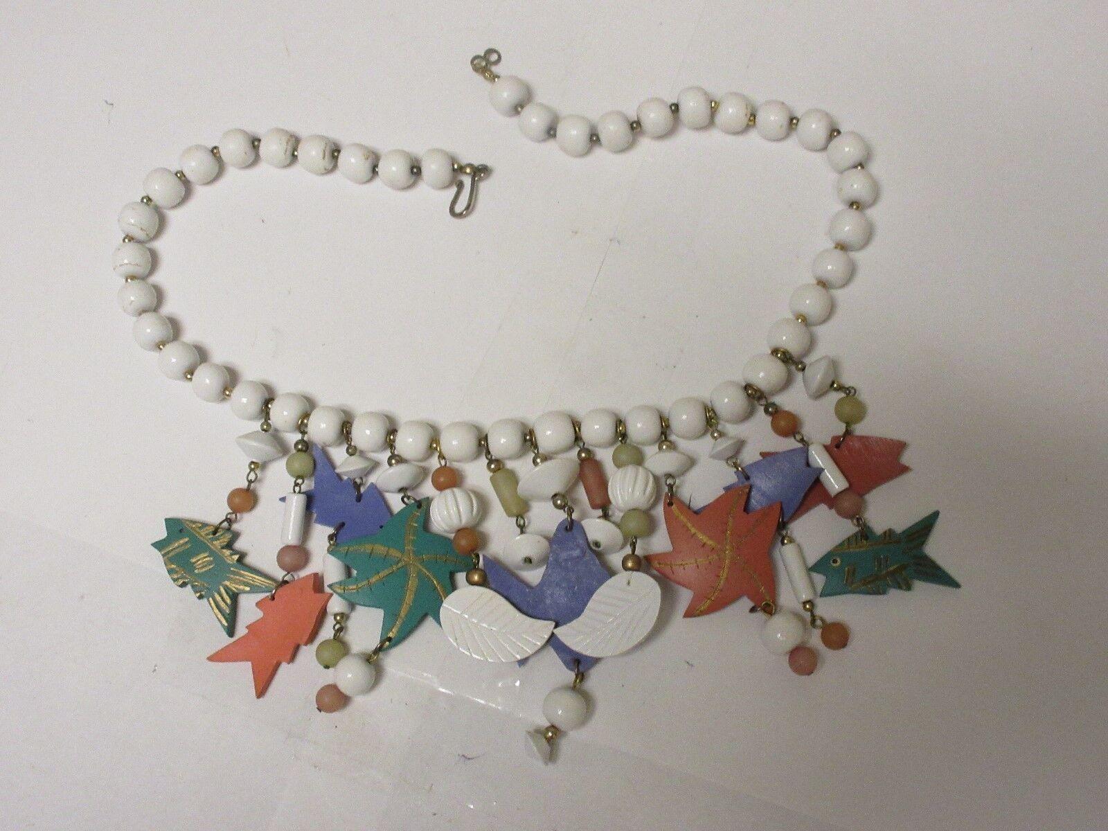 Costume Jewelry , Multi Color Necklace (Fish) , Please