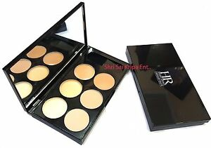 HILARY RHODA HIGH-QUALITY SIX-COLOR WET  CONCEALER PALETTE MODEL NO-HR922-