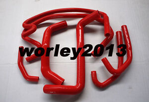Red-silicone-radiator-heater-hose-for-Commodore-VE-V8-6-0L-LS2-L98-SS-HSV-06-on