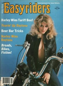 1983-July-Easyriders-Vintage-Motorcycle-Magazine-w-David-Mann-Poster
