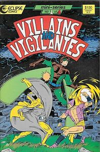 Villains and Vigilantes No.1 / 1986 Jack Herman & Jeff Dee - Darmstadt, Deutschland - Villains and Vigilantes No.1 / 1986 Jack Herman & Jeff Dee - Darmstadt, Deutschland