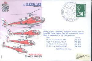 AD9 The Gazelles Air Display RAF flown Cover
