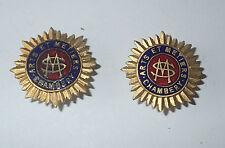 lot 2 insignes - arts et metiers Chambery (624J)