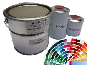 3-5-Litros-Set-2k-Pintura-RDA-color-deseado-ninguna-Laca-Transparente