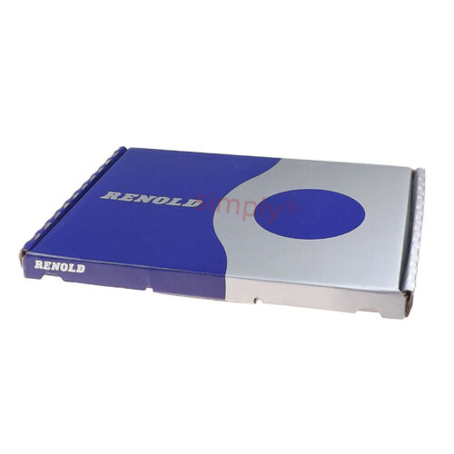 Renold Blue Box 08B-1 BS Simplex Roller Chain 1//2 inch Pitch