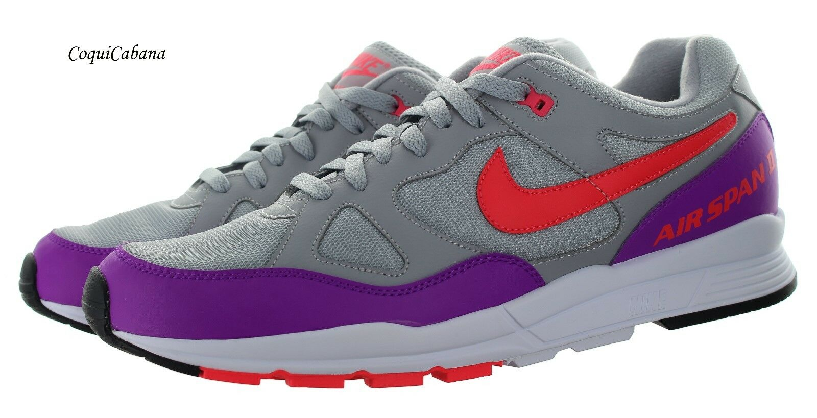 buy online 44a32 d163c Nike Men s AIR II Grey - Training shoes Size 14 New Purple SPAN nqxzsw6189-Men s  Athletic Shoes