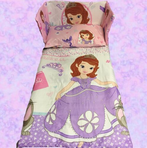 Different sizes available Disney Princess SOFIA The First Cot//Crib BEDDING SET