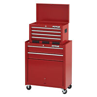 Waterloo Stc-266rd-f Shop Series 26-inch Wide 6-drawer Friction Tool Center, Red on sale