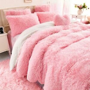 Sherpa Double Layer Blanket Super Soft Throw Winter Blankets Sofa Bed Covers New