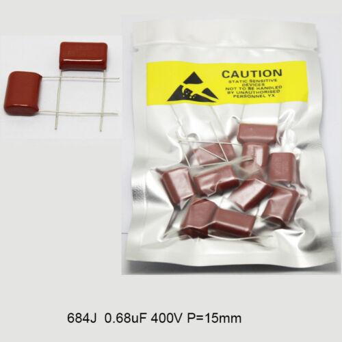 Metallized Polypropylene Capacitors CBB 400V 104J 155J 224J 334J 474J 683J 684J