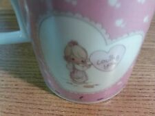 Precious Moments 1989 Vintage Coffee Mug Cup Loving You Valentines Day