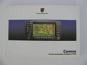 porsche cayenne pcm communication management new factory manual rh ebay com Porsche Manual Interior Porsche Manual Book
