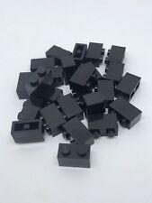 ID 3001 Black Bricks Lot of 25 New Lego 2x4